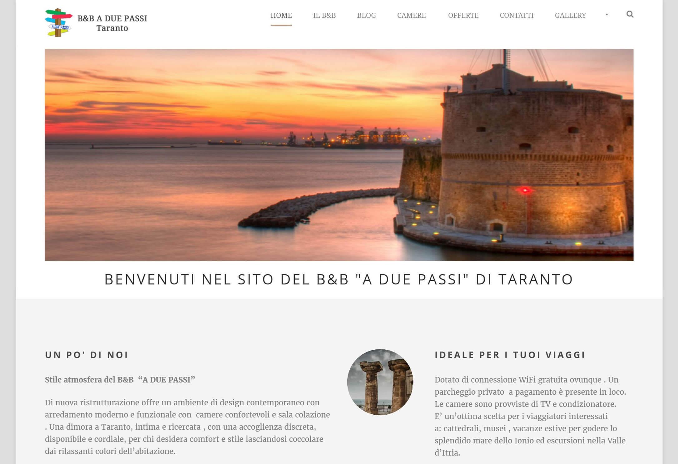 B&B a due passi Taranto