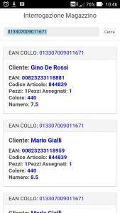 Applicazione Android Gestione Magazzino
